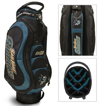 San Jose Sharks Golf Bag