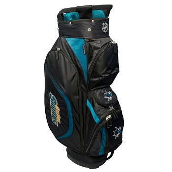 San Jose Sharks Clubhouse Cart Golf Bag