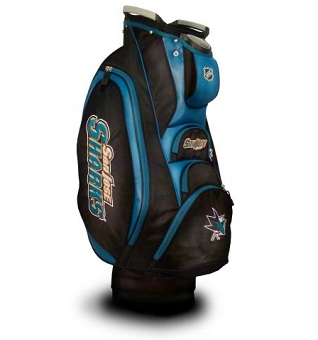 San Jose Sharks Cart Golf Bag