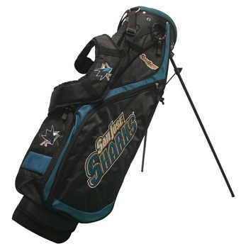 San Jose Sharks Nassau Stand Golf Bag