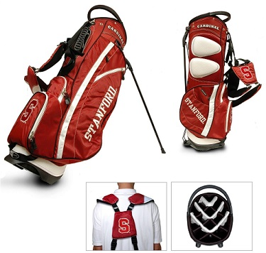 Stanford Cardinal Carry Stand Golf Bag