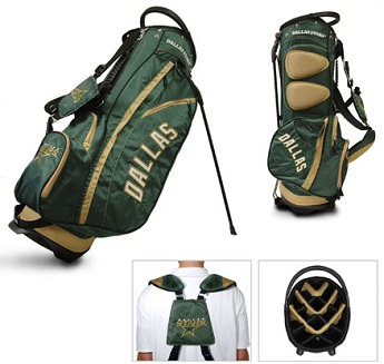 Dallas Stars Carry Stand Golf Bag