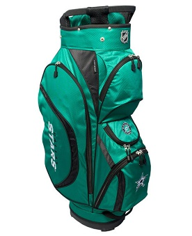 Dallas Stars Clubhouse Cart Golf Bag