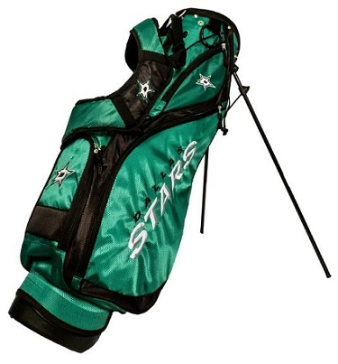Dallas Stars Nassau Stand Golf Bag