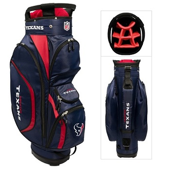 Houston Texans Clubhouse Cart Golf Bag