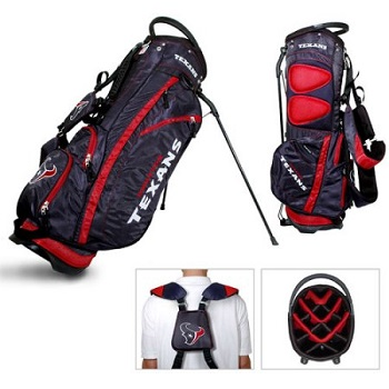Houston Texans Carry Stand Golf Bag