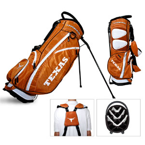 University of Texas Carry Stand Golf Bag