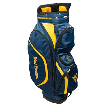 West Virginia Mountaineers Clubhouse Cart Golf Bag