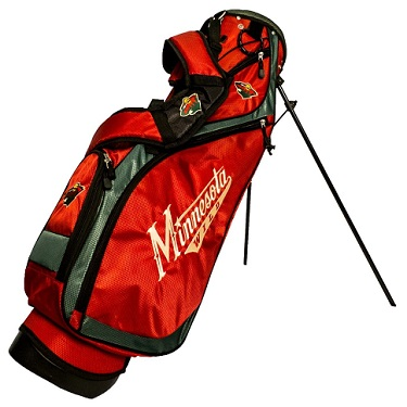 Minnesota Wild Nassau Stand Golf Bag