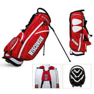 University of Wisconsin Carry Stand Golf Bag