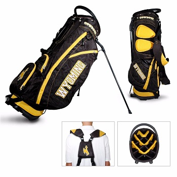 University of Wyoming Cowboys Carry Stand Golf Bag